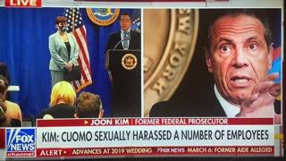 NY Governor Cuomo Sexually Harasses Employees