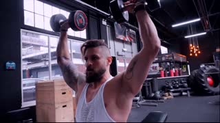 Gain muscle using light weight