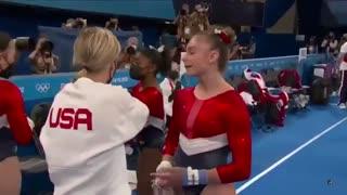 Simone Biles exits Team Final After Vault Tokyo 2021 Olympics