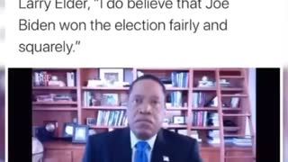 CA governor hopeful Larry Elder on the presidential election fraud