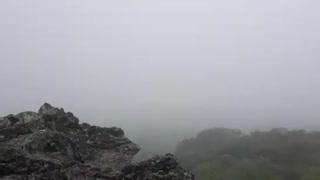 Top of Mt. Halla in Jeju Island, Korea