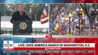 Trump Speaks at Stop the Steal Rally January 6, 2021