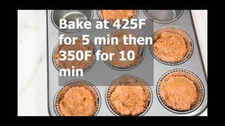 Sourdough Gingerbread Muffin