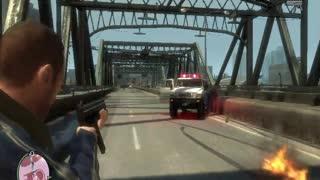 GTA IV - Police Chase