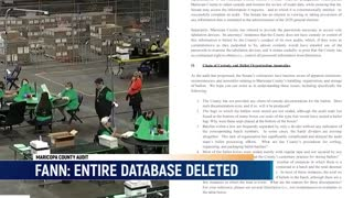 #BREAKING Karen Fann: Maricopa County Officials DELETED Drive 'D' Directory from Voting Machines