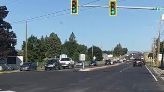 Police Pursued Car Crashes into Spectators