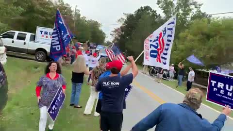 AWKWARD: Planned Biden Rally Turns Into a Trump Rally