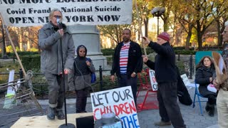 My Speech in Union Square NYC!!! #NoMask #NonNewNorm #StopTheSteal #TurnNyRED