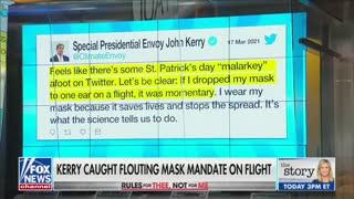 Chris Hahn on maskless John Kerry