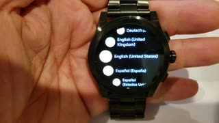 RESET Michael Kors Access Grayson Android Smartwatch 47mm Stainless Steel MKT5029 (01-2019)