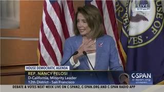 It's all Fun, Games and Tactics to Nancy Pelosi et al