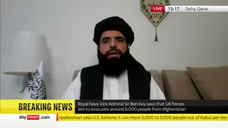 Taliban Spokesman Gives Biden Ultimatum