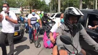 Marcha por el paramo deSanturban/Bucaramanga