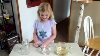 Ally's Science Experiment