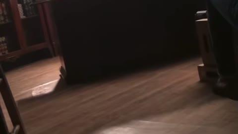 Denis Going off on set