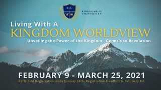 Living with a Kingdom Worldview