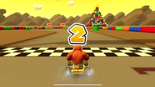Mario Kart Tour - Bowser Cup Time Trial Challenge Completion (Winter Tour)