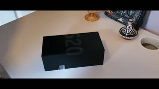 Unboxing Samsung s20 ultra