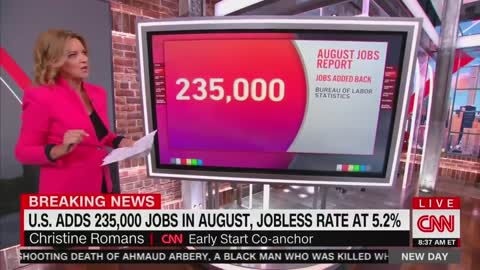 CNN On The August Jobs Report: A Big Disappointment & A Big Miss