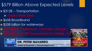 Navarro Exposes What's Really In Biden's Horrid Passed Infrastructure Bill