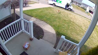 Quick Footed Delivery Man