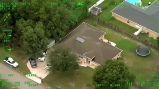 Aerial Police Pursuit of Stolen Mercedes in Volusia County