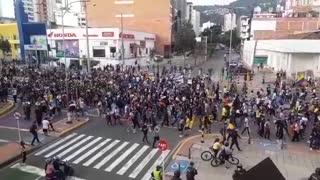 Retorno de los manifestantes a la puerta del sol | 29 de abril
