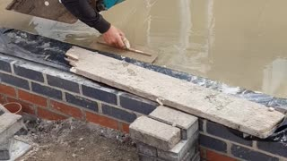 Floating Worker Finishes the Job