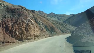 Death Valley National Park, California USA. Artist's Palette scenic drive