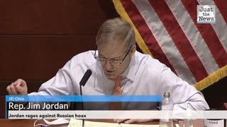 Jordan rages against Russian hoax