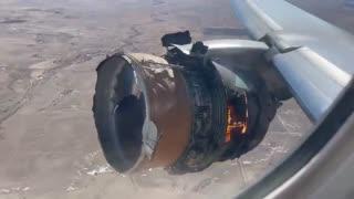 Aircraft engine fire