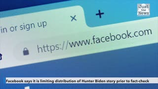 Facebook says it is limiting distribution of bombshell Hunter Biden story prior to fact-check
