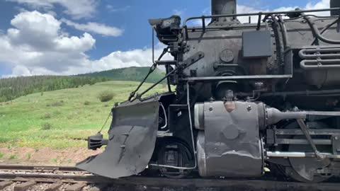 Cumbres & Toltec Train 5 minute warning
