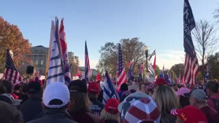 Million Maga March Trump is Your President