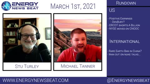 The Daily Energy News Beat Markets show 3-1-2021