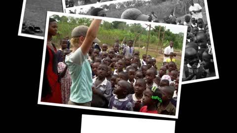 Soccer balls for Uganda slideshow