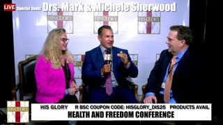Mark and Michelle Sheerwood : Health and Freedom Conference Tulsa Day 2