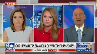 Mercedes Schlapp And Chris Hahn Debate COVID Passports