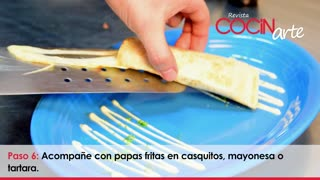 Receta Cocinarte: Miniquesadilla de pollo