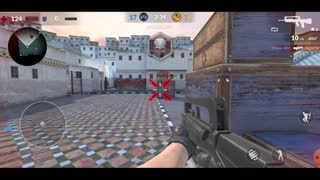 Critical Strike Counter Terrorist Online FPS Android - First steps in the game - Gameplay