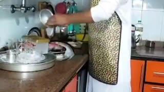 Funny Covid-19 Impact on House Kitchen Chef