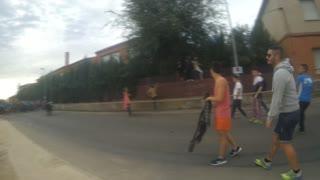 Running with the Bulls Fiesta