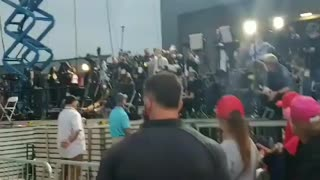 """Chanting """"CNN SUCKS"""" at TRUMP Rally in PA! What a great time that was..."""