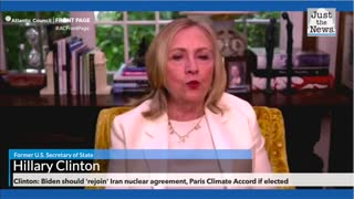 Hillary Clinton: Biden should 'rejoin' Iran nuclear agreement, Paris Climate Accord if elected