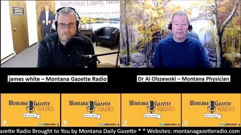 Dr. Al Dumps Montana Medical Association