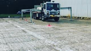 Laser screeding concrete