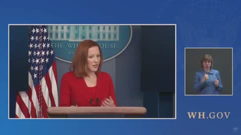 Jen Psaki Was Asked About the Growing Crisis On Our Southern Border - and Her Reaction Says it All