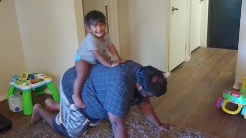 Lovik on Daddy Elephant
