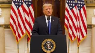 BREAKING: Trump Releases Farewell Video