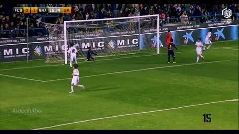 FC Barcelona vs Real Madrid MIC Football 15 Xavi Simons U-12